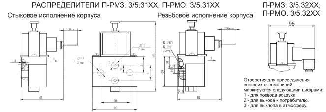 Чертеж П-РМЗ.3-5 П-РМО.3-5 Product 9-3