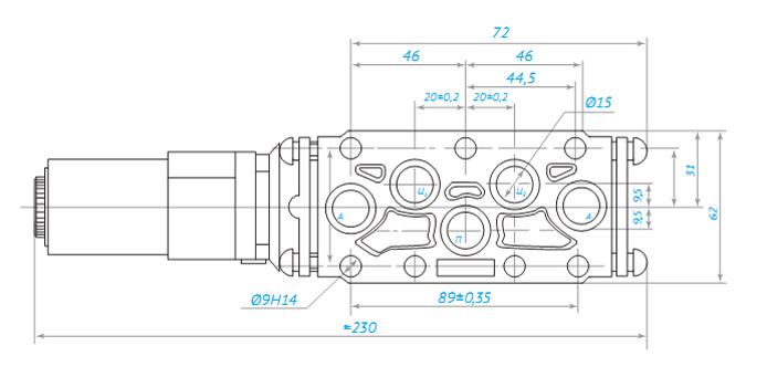 r22-2 Клапан электропневматический типа КЭП-16
